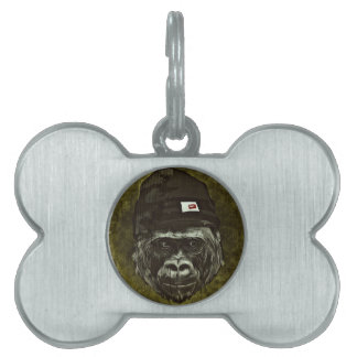 Ape Pet Tag