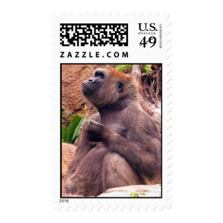 Ape Postage Stamp