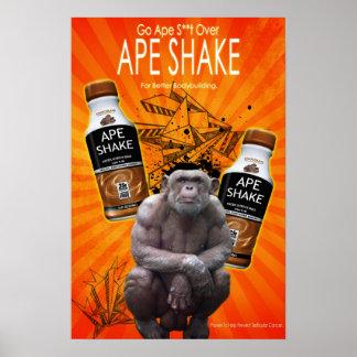 ape shake poster