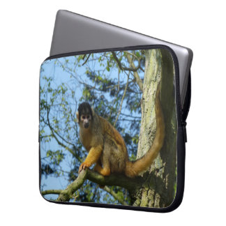 Ape skull little monkey laptop sleeve