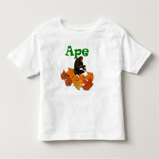 Ape wild animal kids t-shirt