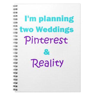 Apego de Pinterest Cuaderno
