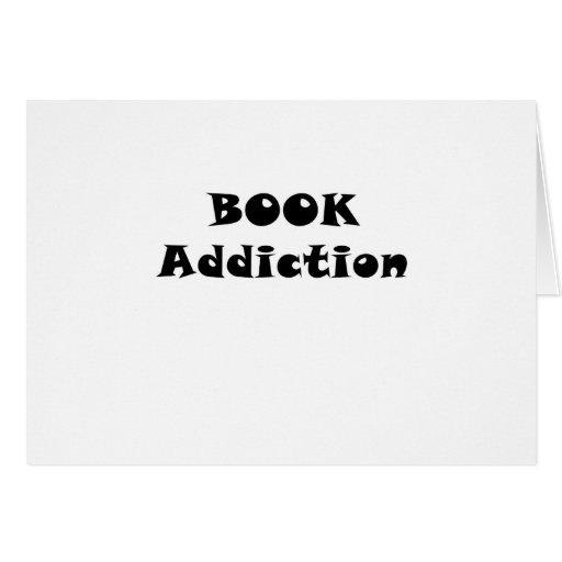 Apego del libro tarjeta