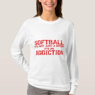 Apego del softball playera