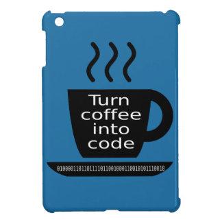 Apego fresco del café del friki del programador