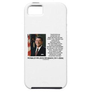 Apelado a sus mejores miedos no peores Reagan de Funda Para iPhone SE/5/5s