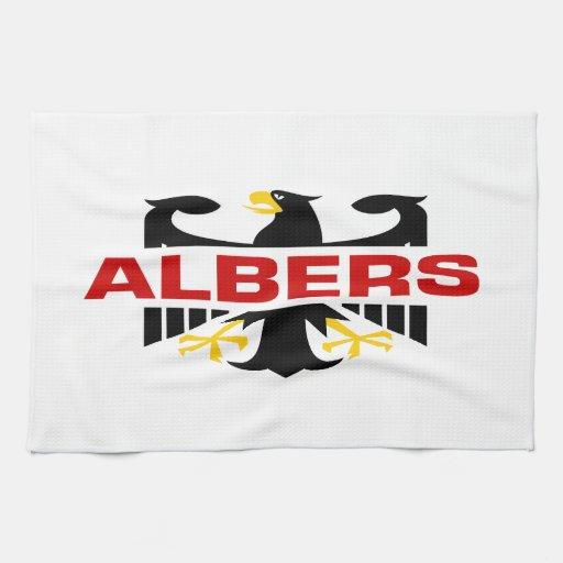 Apellido de Albers Toalla