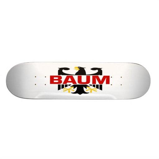 Apellido de Baum Patines Personalizados