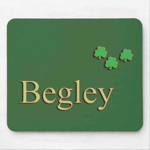 Apellido de Begley Alfombrillas De Ratones
