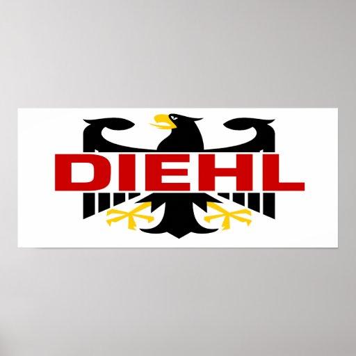 Apellido de Diehl Impresiones