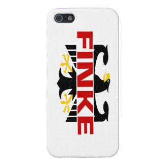 Apellido de Finke iPhone 5 Carcasa