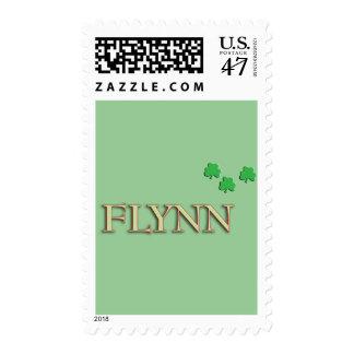 Apellido de Flynn Sellos Postales
