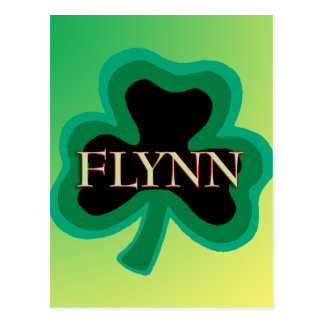 Apellido de Flynn Tarjetas Postales
