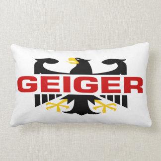 Apellido de Geiger Almohadas