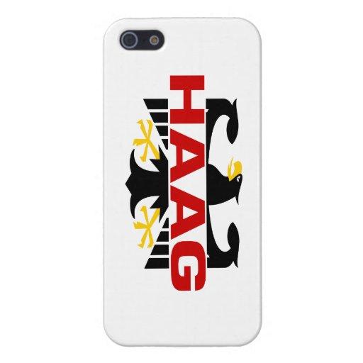 Apellido de Haag iPhone 5 Protectores
