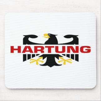 Apellido de Hartung Alfombrilla De Ratón