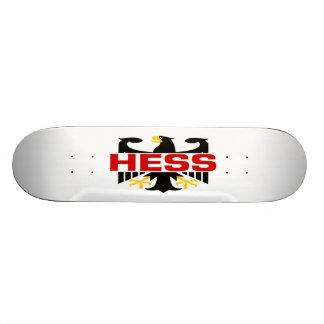 Apellido de Hess Skateboards