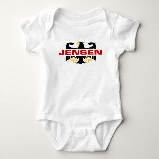 Apellido de Jensen Body Para Bebé