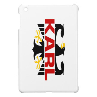 Apellido de Karl iPad Mini Protectores