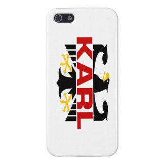 Apellido de Karl iPhone 5 Fundas
