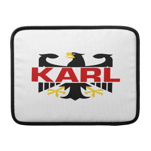 Apellido de Karl Funda MacBook