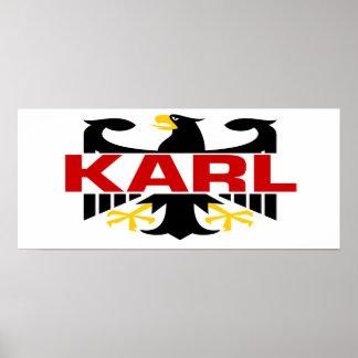 Apellido de Karl Impresiones