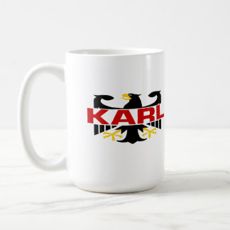 Apellido de Karl Tazas De Café
