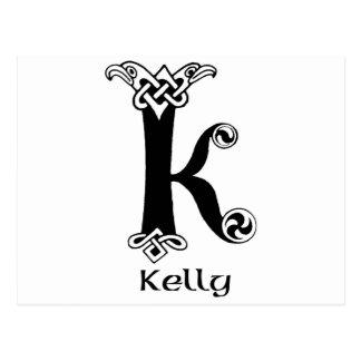 Apellido de Kelly Tarjetas Postales
