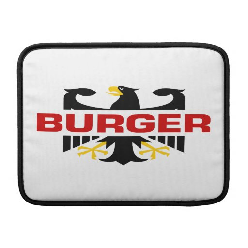 Apellido de la hamburguesa funda  MacBook