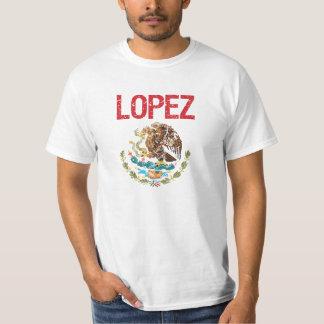 Apellido de López Playera