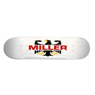 "Apellido de Miller Patineta 7 7/8"""