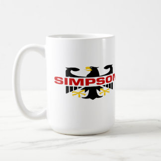Apellido de Simpson Taza