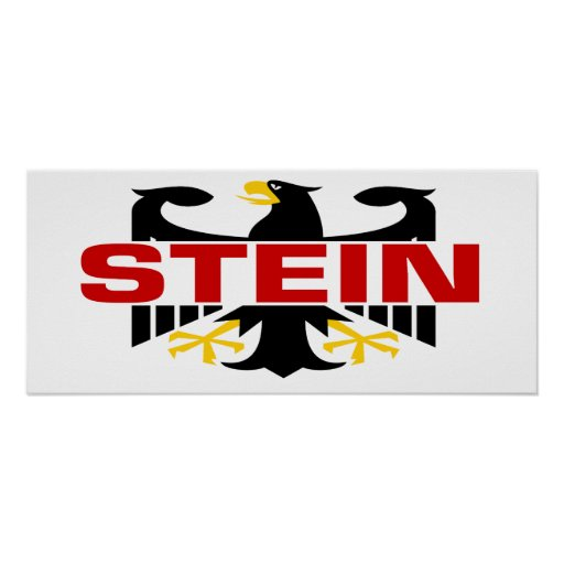 Apellido de Stein Posters