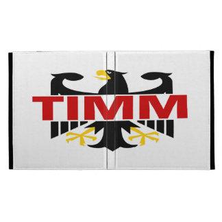 Apellido de Timm