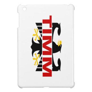 Apellido de Timm iPad Mini Protectores