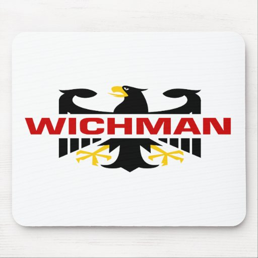 Apellido de Wichman Tapetes De Ratón