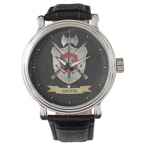 Apellido del escudo de la batalla de Sigil del Relojes De Pulsera
