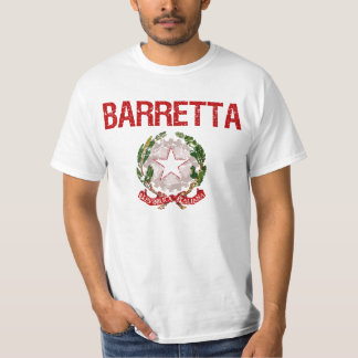 Apellido del italiano de Barretta Playera