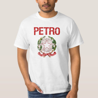 Apellido del italiano de Petro Playeras