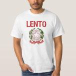 Apellido del italiano del Lento Camisas