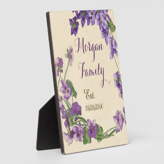 apellido, regalo de boda placa para mostrar