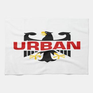Apellido urbano toalla de cocina