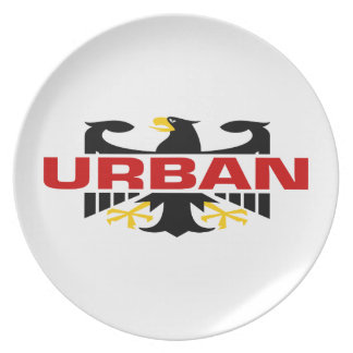 Apellido urbano plato de comida