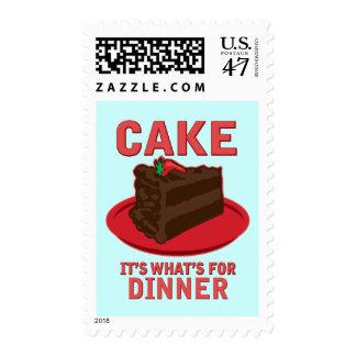 Apelmácese, él es cuál está para la cena sellos postales