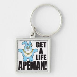 Apeman Bad Bun Life Keychain