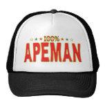 Apeman Star Tag Mesh Hat