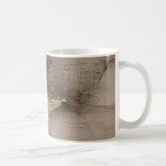 apenado pelando la taza texturizada pintura