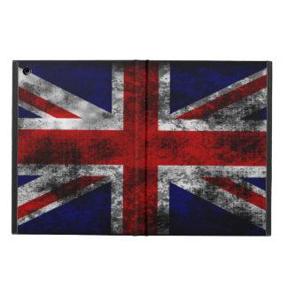 Apenado y Grunge Union Jack la bandera del Reino