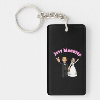 Apenas 2 casados llavero