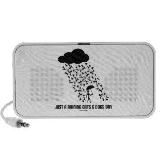 Apenas A que llueve día de los gatos y de perros iPhone Altavoces